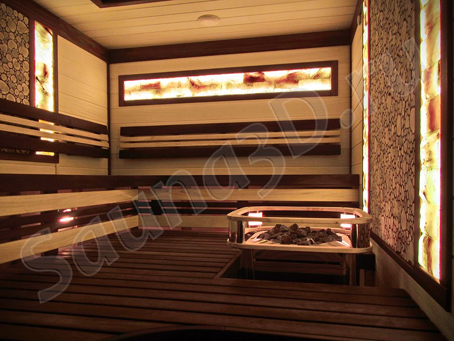 фото готовой сауны 664 проект сауны с гималайской солью