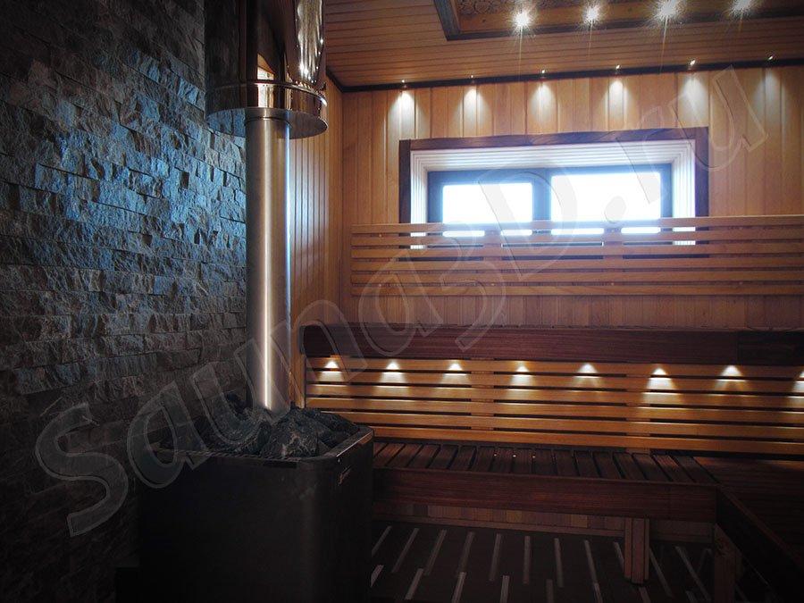 фото готовой сауны 667 проект бани из ольхи с можжевельником