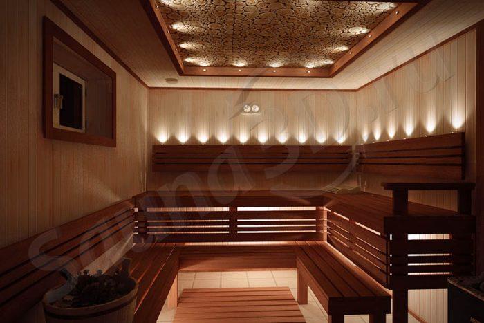 дизайн проект красивой бани из ольхи с дровяной каменкой