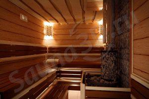 731 дизайн проект бани 3д из шале и горбыля