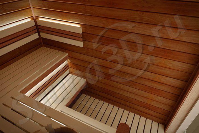 734 дизайн проект сауны 3д печь Tulikivi KUURA