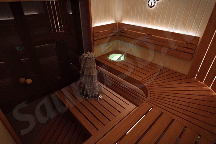 738 дизайн проект сауны из ольхи с HARVIA KIVI