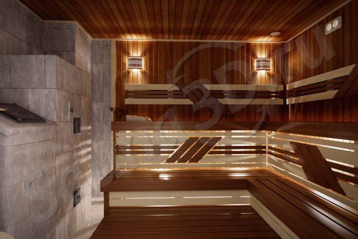 765 дизайн проект бани из термоосины печь из талькохлорита