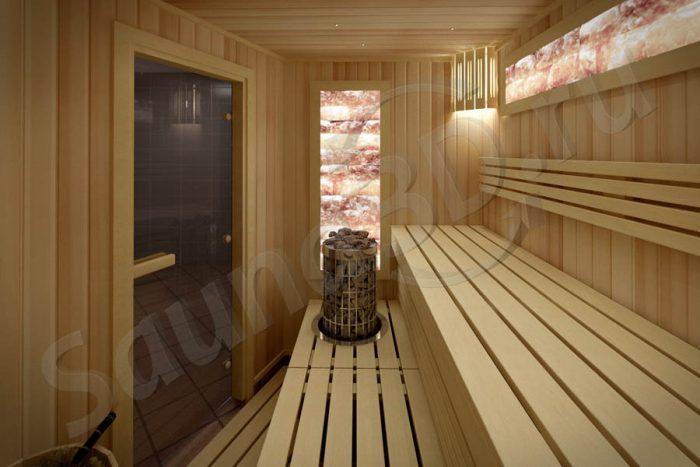781 проект сауны и инфракрасной кабины, гималайская соль