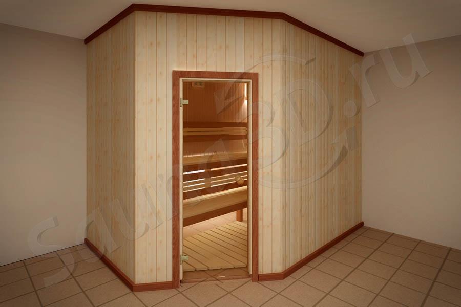 791 дизайн проект бани из ольхи с HARVIA LEGEND 150
