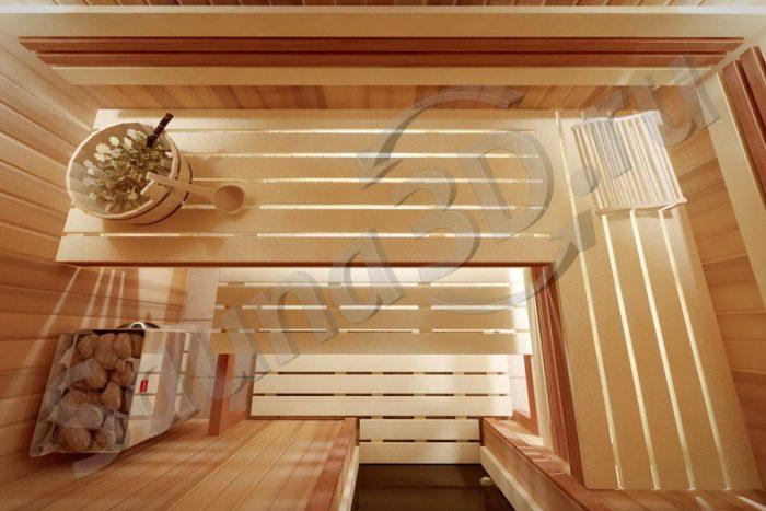 804 дизайн сауны в квартире, бюджетная печь HARVIA The Wall
